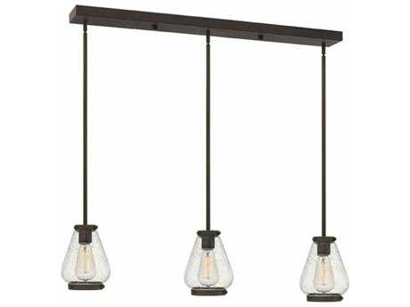 Hinkley Lighting Finley Oil Rubbed Bronze Three-Light 36'' Wide Incandescent Island Ceiling Light HY3689OZ