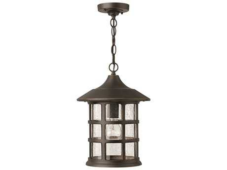 Hinkley Lighting Freeport Oil Rubbed Bronze Incandescent Outdoor Pendant Light