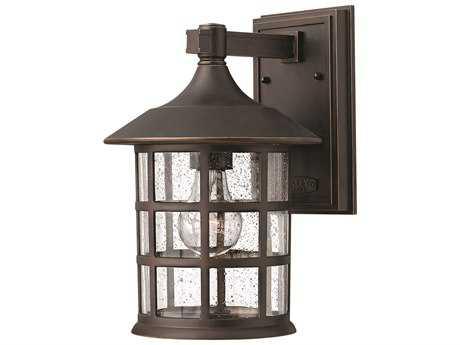 Hinkley Lighting Freeport Oil Rubbed Bronze Incandescent Outdoor Wall Light HY1804OZ
