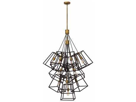Hinkley Lighting Fulton Bronze 13-Light 33.5'' Wide Incandescent Pendant Ceiling Light HY3358BZ