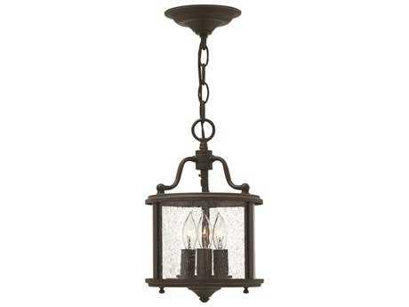 Hinkley Lighting Gentry Olde Bronze Three-Light Mini-Chandelier HY3470OB