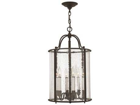 Hinkley Lighting Gentry Olde Bronze Six-Light Mini-Chandelier