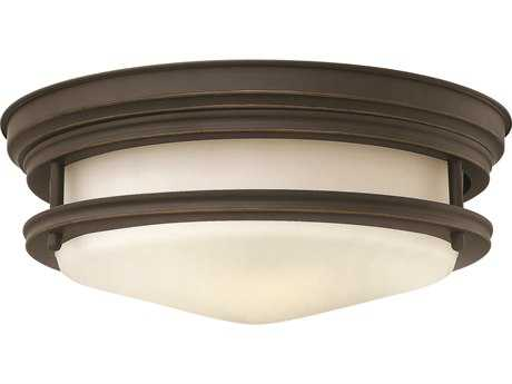 Hinkley Lighting Hadley Oil Rubbed Bronze Two-Light Incandescent Flush Mount Light HY3302OZ