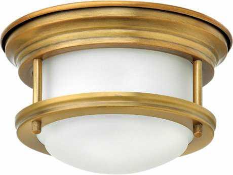 Hinkley Lighting Hadley Brushed Bronze 7.75'' Wide LED Flush Mount Ceiling Light