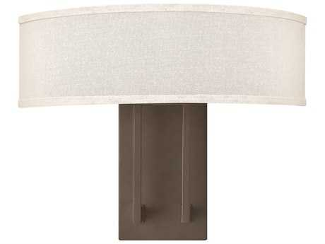 Hinkley Lighting Hampton Buckeye Bronze Two-Light Wall Sconce HY3202KZ