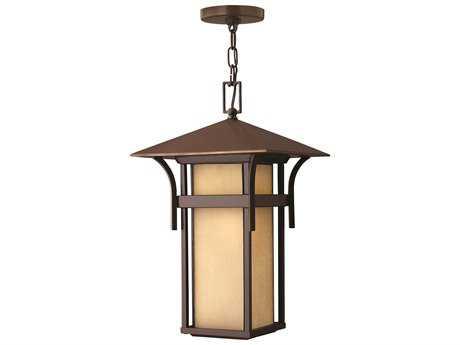 Hinkley Lighting Harbor Anchor Bronze Incandescent Outdoor Pendant Light