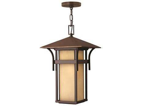 Hinkley Lighting Harbor Anchor Bronze LED Outdoor Pendant Light