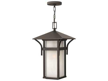 Hinkley Lighting Harbor Satin Black LED Outdoor Pendant Light