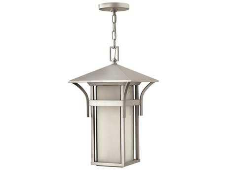 Hinkley Lighting Harbor Titanium LED Outdoor Pendant Light