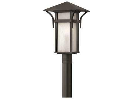 Hinkley Lighting Harbor Satin Black LED Outdoor Post Light
