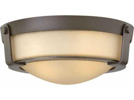 Hinkley Lighting Hathaway Olde Bronze 13'' Wide LED Flush Mount Ceiling Light