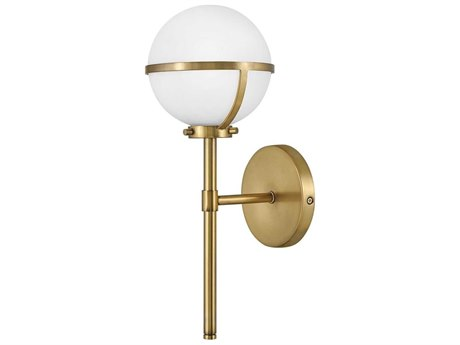 Hinkley Lighting Hollis Heritage Brass LED Wall Sconce