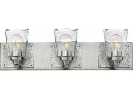 Hinkley Lighting Jackson Brushed Nickel Three-Light 24.25'' Wide Incandescent Vanity Light HY51823BN