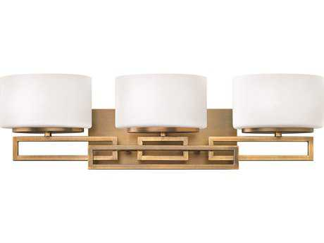 Hinkley Lighting Lanza Brushed Bronze Three-Light Vanity Light