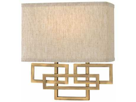 Hinkley Lighting Lanza Brushed Bronze Two-light Wall Sconce HY3162BR