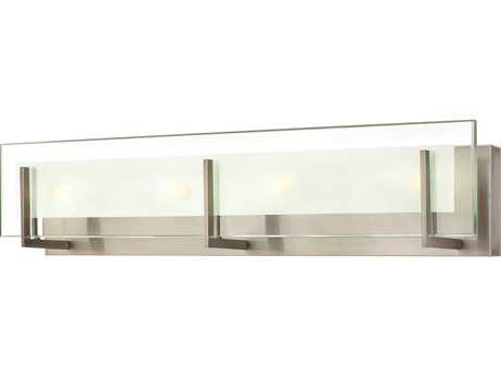 Hinkley Lighting Latitude Brushed Nickel Four-Light Incandescent Vanity Light HY5654BN