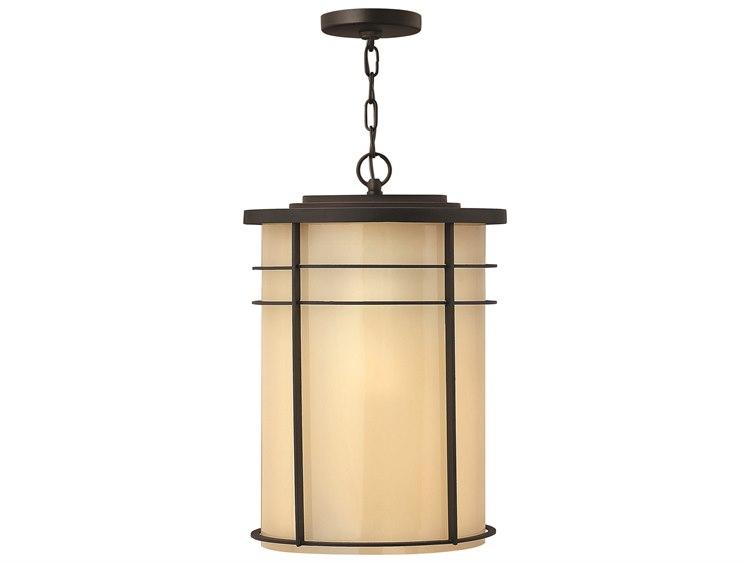 buy popular 4eea5 409a0 Hinkley Lighting Ledgewood Museum Bronze Incandescent Outdoor Pendant Light