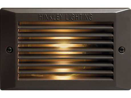 Hinkley Lighting Line Voltage Bronze Outdoor Deck Light