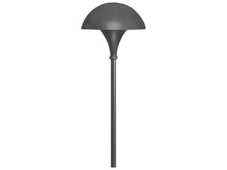 Hinkley Lighting Line Voltage Path Charcoal Gray Outdoor Post Light