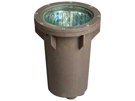 Hinkley Lighting Line Voltage Bronze 100 Watt Small In-Ground Well Light