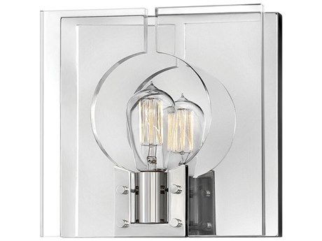 Hinkley Lighting Lisa Mcdennon Polished Nickel 1-light Wall Sconce