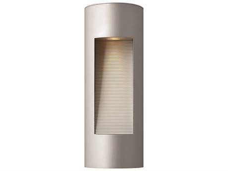 Hinkley Lighting Luna Titanium Two-Light LED Outdoor Wall Light