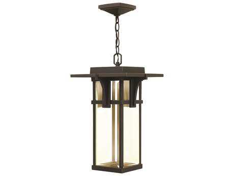 Hinkley Lighting Manhattan Oil Rubbed Bronze LED Outdoor Pendant Light