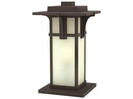 Hinkley Lighting Manhattan Oil Rubbed Bronze Incandescent Outdoor Pier Light HY2237OZ