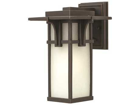 Hinkley Lighting Manhattan Oil Rubbed Bronze Incandescent Outdoor Wall Light