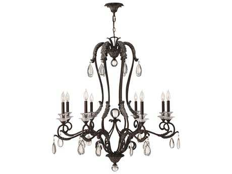 Hinkley Lighting Marcellina Golden Bronze Eight-Light 39 Wide Chandelier HY4404GR