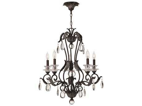 Hinkley Lighting Marcellina Golden Bronze Five-Light 25 Wide Chandelier HY4405GR