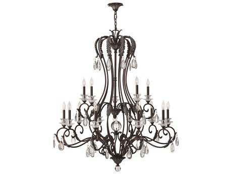 Hinkley Lighting Marcellina Golden Bronze 15-Light 47'' Wide Chandelier HY4408GR