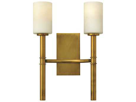 Hinkley Lighting Margeaux Vintage Brass Two-Light Wall Sconce HY3582VS