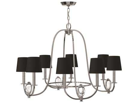 Hinkley Lighting Marielle Chrome Eight-Light 32 Wide Chandelier HY3758CM