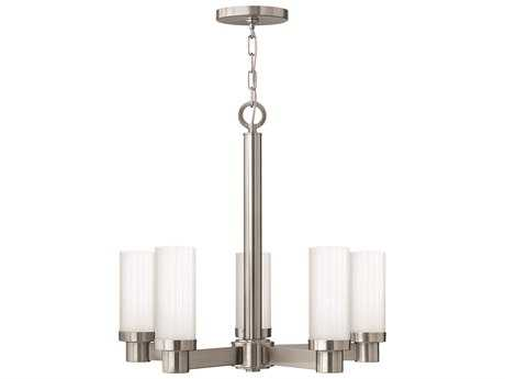 Hinkley Lighting Midtown Brushed Nickel Five-Light 24 Wide Chandelier HY4975BN