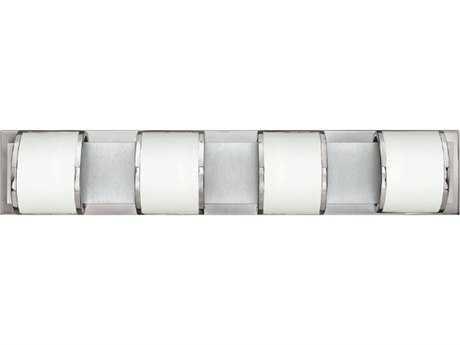 Hinkley Lighting Mira Chrome Four-Light 33.5'' Wide G-9 Vanity Light