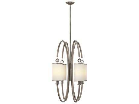Hinkley Lighting Monaco Brushed Nickel Four-Light Pendant Light HY4858BN