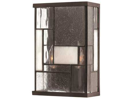 Hinkley Lighting Mondrian Buckeye Bronze Two-Light Wall Sconce HY4570KZ