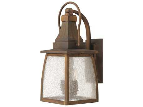 Hinkley Lighting Montauk Sienna LED Outdoor Wall Light HY1200SNLED