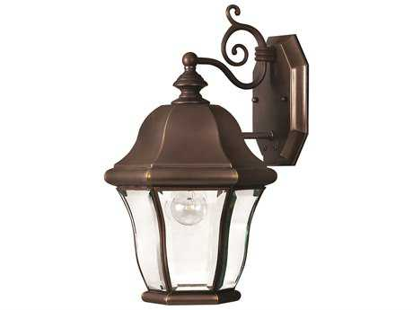 Hinkley Lighting Monticello Copper Bronze Outdoor Wall Light