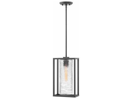 Hinkley Lighting Pax Satin Black 9'' Wide Outdoor Hanging Light
