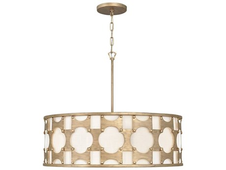 Hinkley Lighting Burnished Gold 6-light 28'' Wide Pendant