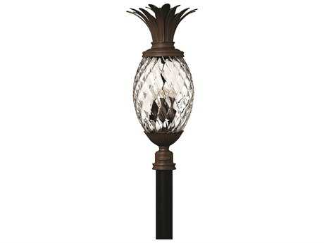 Hinkley Lighting Plantation Copper Bronze Four-Light Outdoor Post Light HY2227CB