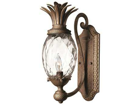 Hinkley Lighting Plantation Pearl Bronze Wall Sconce HY4140PZ