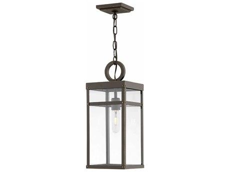 Hinkley Lighting Porter Oil Rubbed Bronze 8'' Wide Outdoor Hanging Light