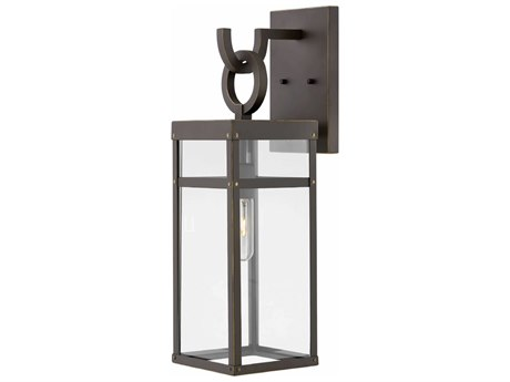 Hinkley Lighting Porter Oil Rubbed Bronze 7'' Wide Outdoor Wall Light