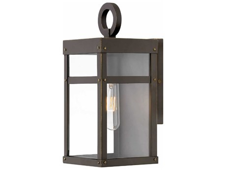Hinkley Lighting Porter Oil Rubbed Bronze 6'' Wide Outdoor Wall Light