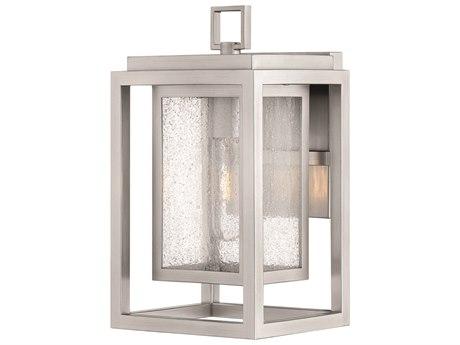 Hinkley Lighting Republic Satin Nickel 7'' Wide Outdoor Wall Light