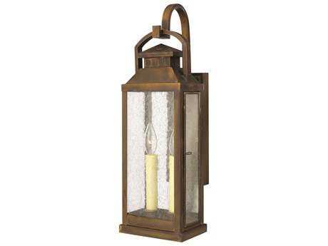 Hinkley Lighting Revere Sienna Two-Light Outdoor Wall Light