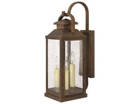 Hinkley Lighting Revere Sienna Three-Light Outdoor Wall Light